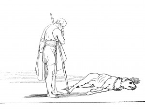 Flaxman_Odyssey_Ulysses_and_his_dog