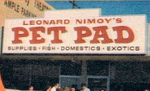 leonard_nimoy_pet_pad_sign